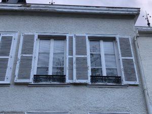 peintures fenêtres avant